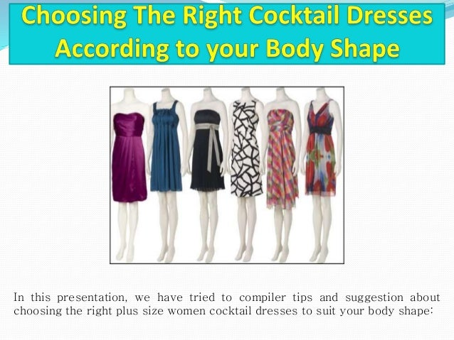 Choosing The Right Cocktail Dresses According to your Body ...