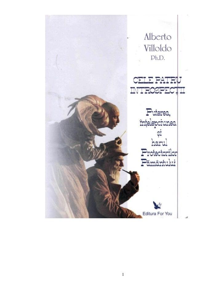 Cele patru introspectii- Alberto Villoldo