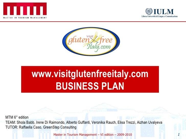 Celiac Business Plan