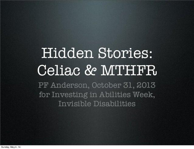 Celiac: Hidden Stories, Invisible Disabilities