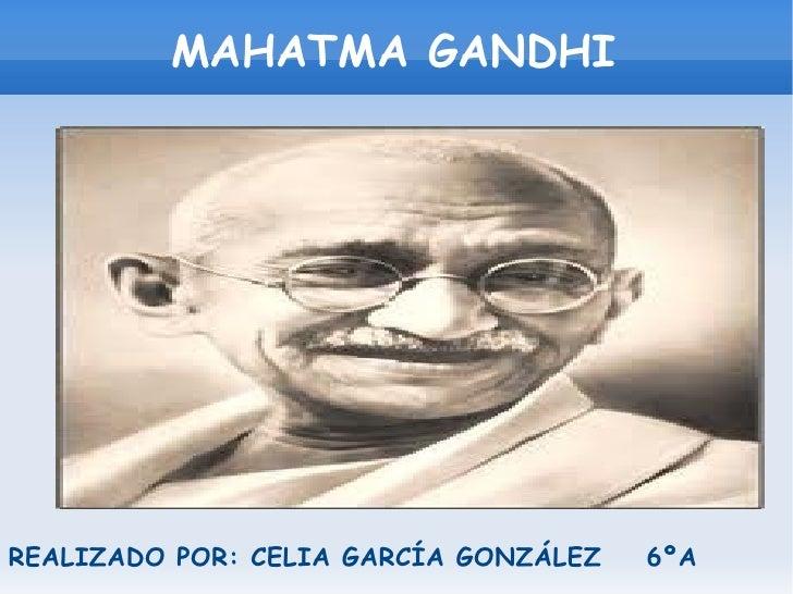 Día de la Paz (Gandhi)
