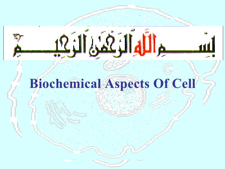 Biochemical Aspects Of Cell