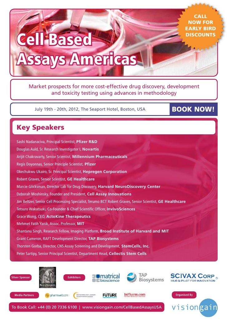 Cell Based Assays Americas (2012)