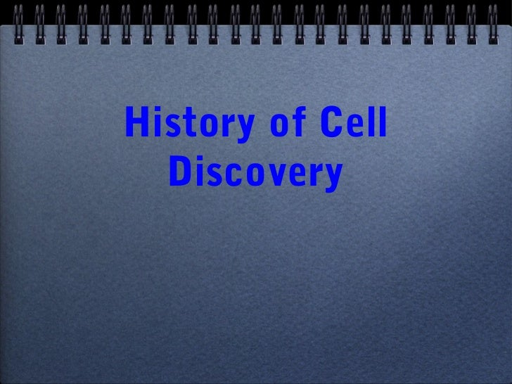 History of Cell  Discovery