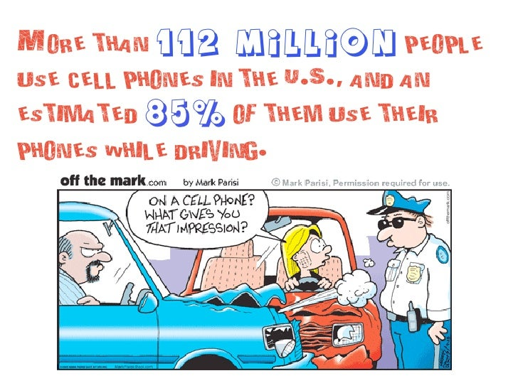 Mobile phones and driving safety