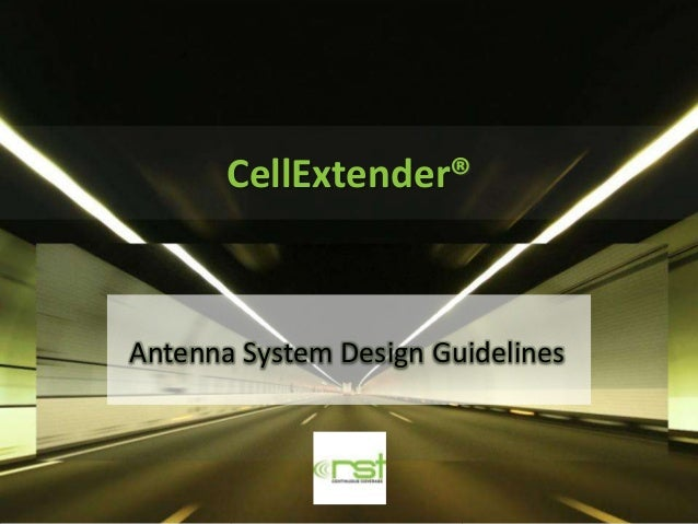 CellExtender®Antenna System Design Guidelines