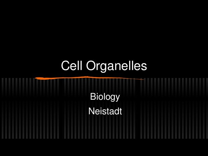 Cell Organelles     Biology    Neistadt