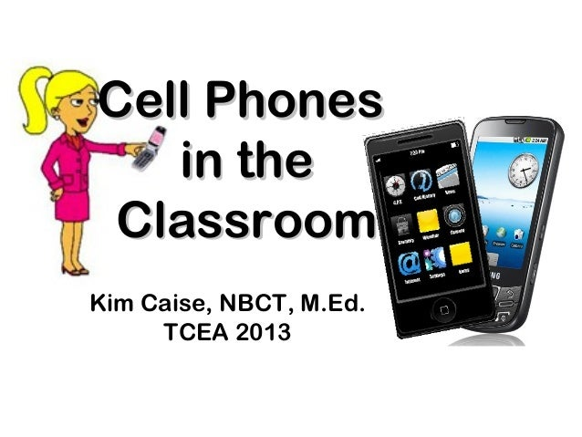 Cell phones as Instructional Tools - TCEA 2013