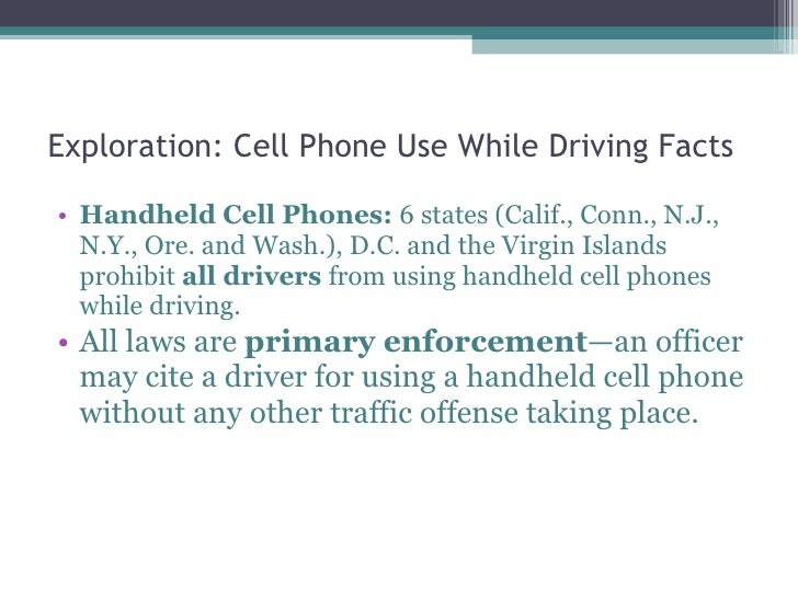 cellphone use while driving essay