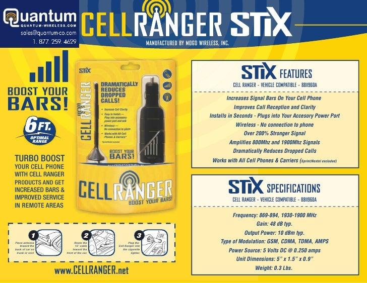 Cell Ranger STIX (Quantum-Wireless.com)