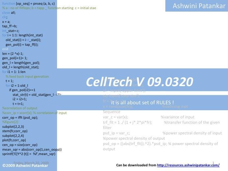 Cell Tech V09 0312