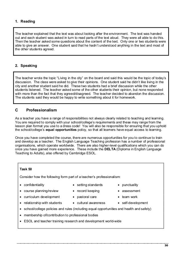 pre interview language awareness task Complete a brief pre-interview task focusing on language awareness and  principles of teaching, and have an interview with one of the cambridge celta .