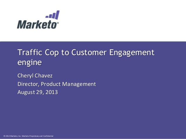 Traffic Cop to Customer Engagement engine
