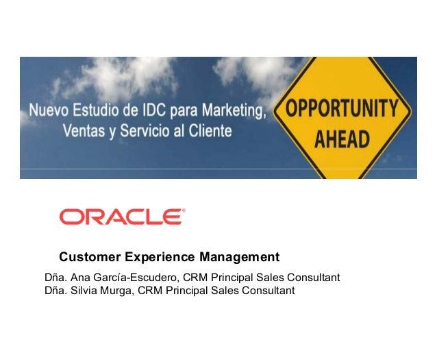 Oracle Aplicaciones CEM CRM Day - 21oct2010.