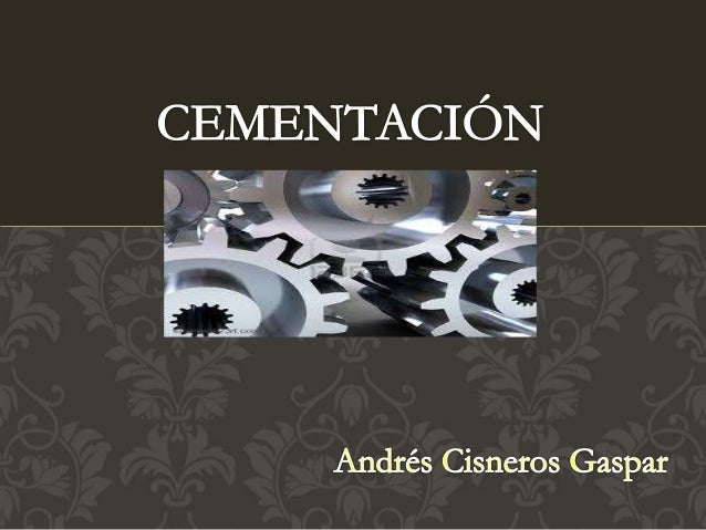 Es un tratamiento termo-químico austeítico en la cual se enriquece la parte superficial del acero con carbono (Carburación...