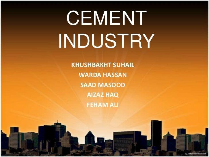 Cement Industries of Pakistan