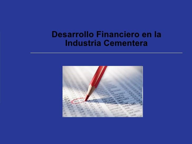 Analisis Financiero Cementeras en el Perú