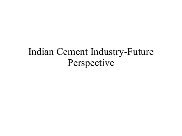 Cement presenatation