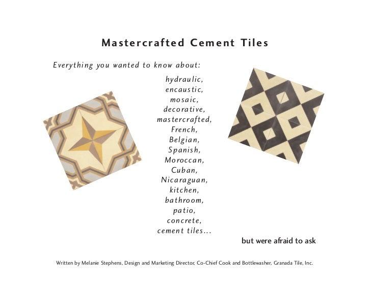 Cement tile book2