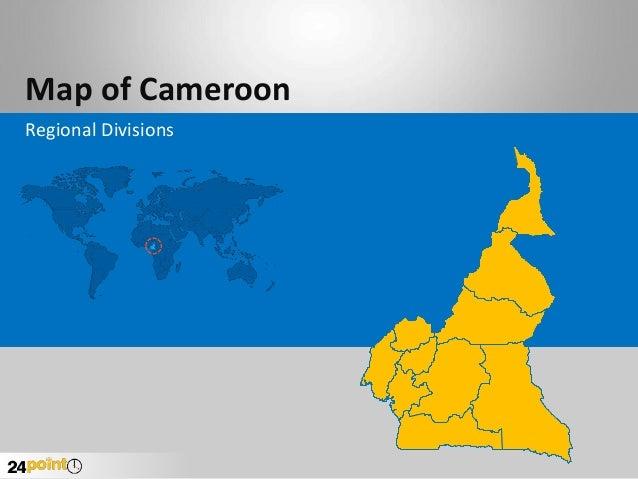 Map of Cameroon Regional Divisions