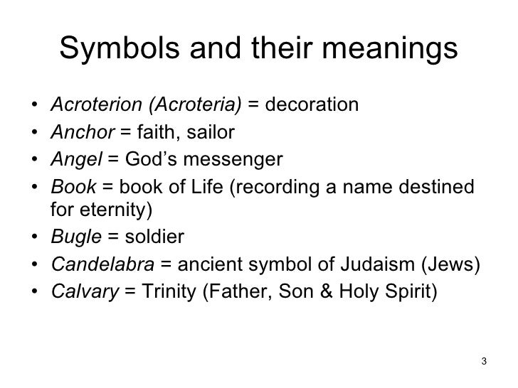 predominate symbols and their meanings