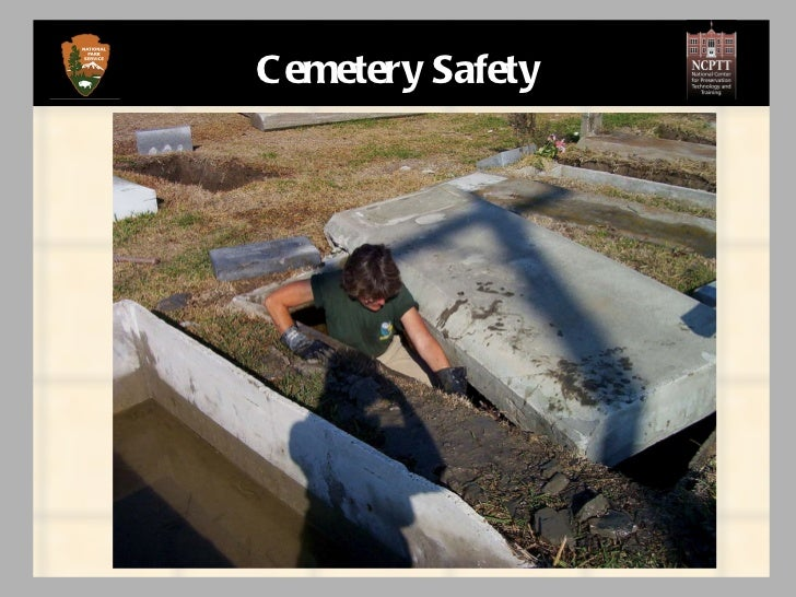 Cemetery safety