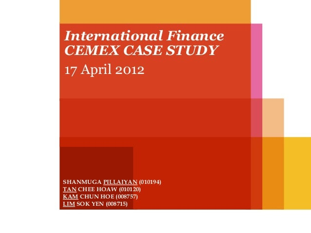 Business Resources: Case Studies�The Role of Financial Analysis