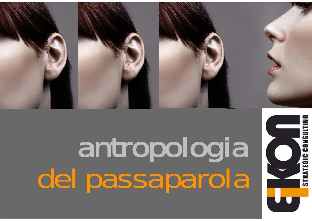antropologia      del passaparola communitycommunitycommunitycommunitycommunityco