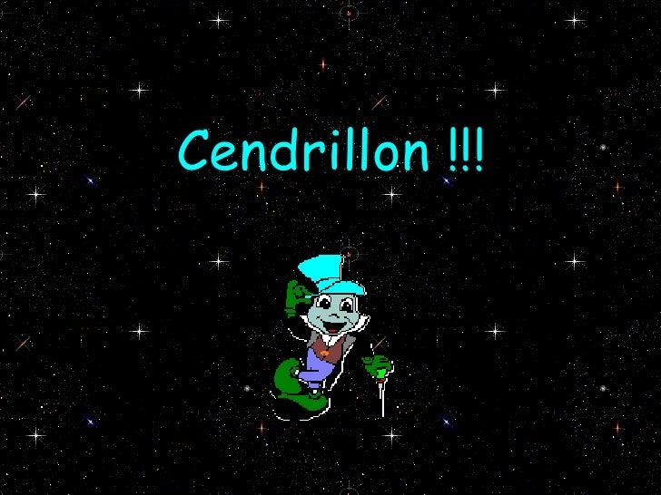 Cendrillon !!!