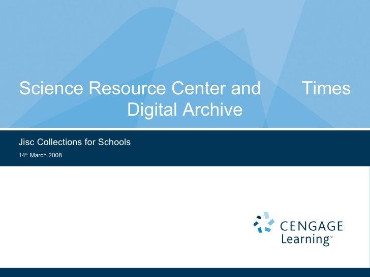 Cengage Schools Presentation