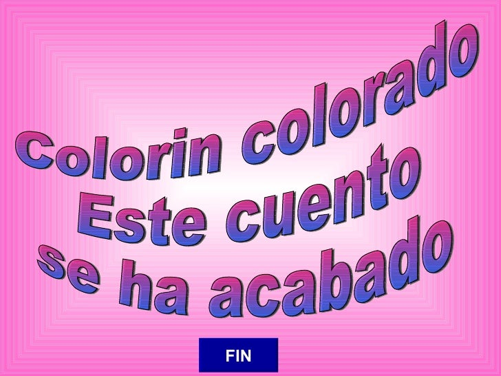 Colorin colorado este cuento aun no se ha acabado online dating 5