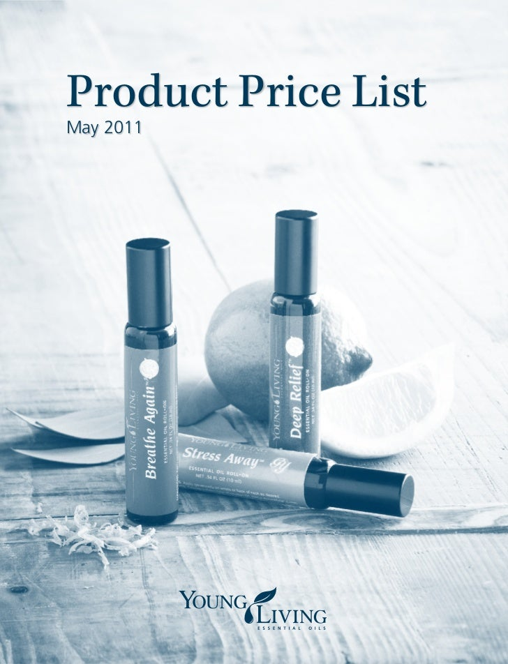 Product Price ListMay 2011