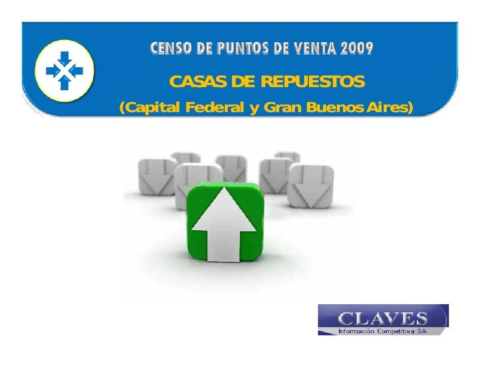 CASAS DE REPUESTOS ( p                                 ) (Capital Federal y Gran Buenos Aires)