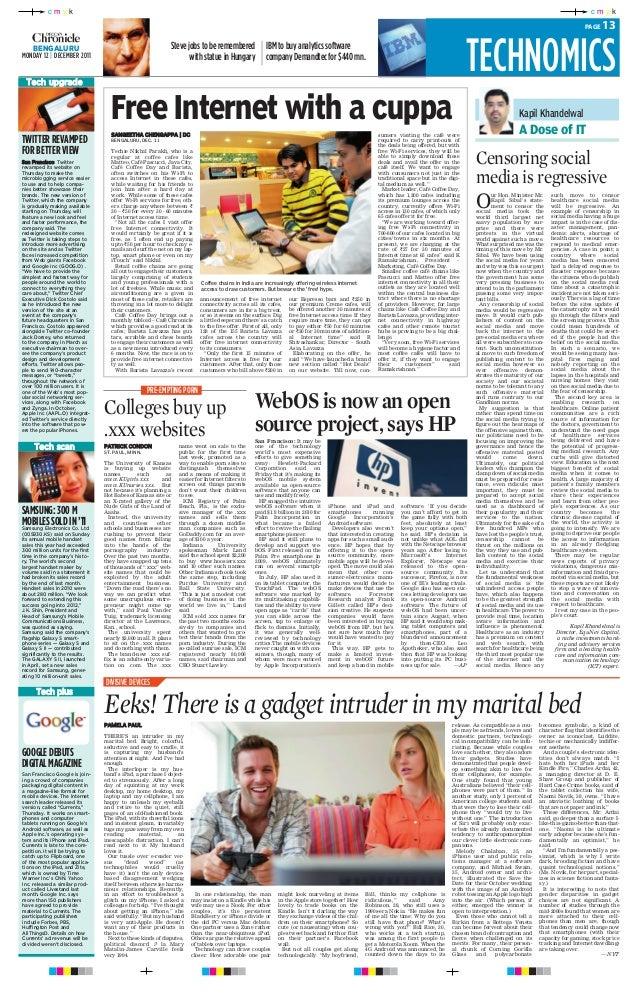 Kapil Khandelwal - Censoring social media in Healthcare is Regressive