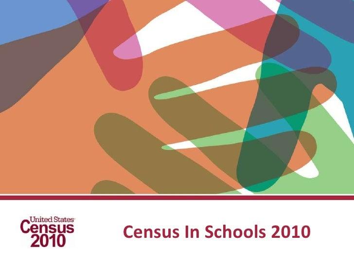 Census In Schools 2010