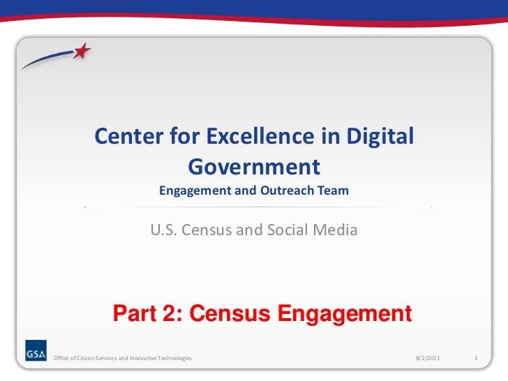 Census Social Media: Part 2