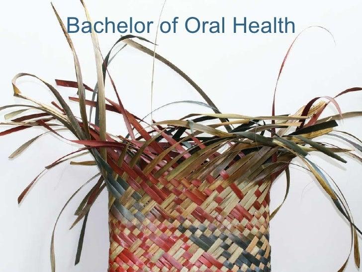 Bachelor of Oral Health