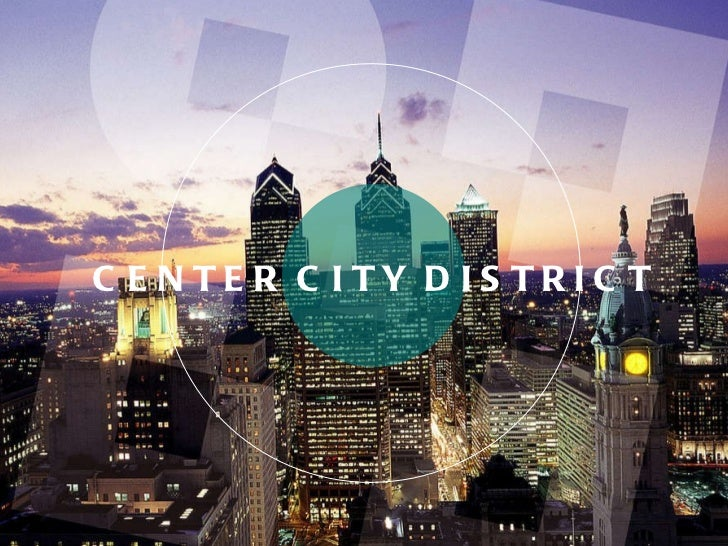 Center city district ACT Presentation 2010