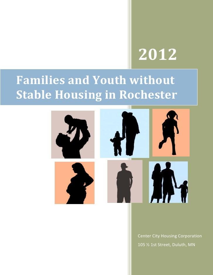 Center City Housing Corp. report