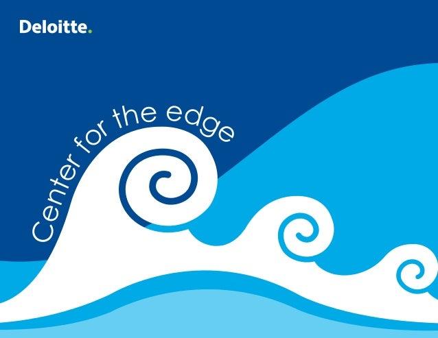 Deloitte Center for the Edge