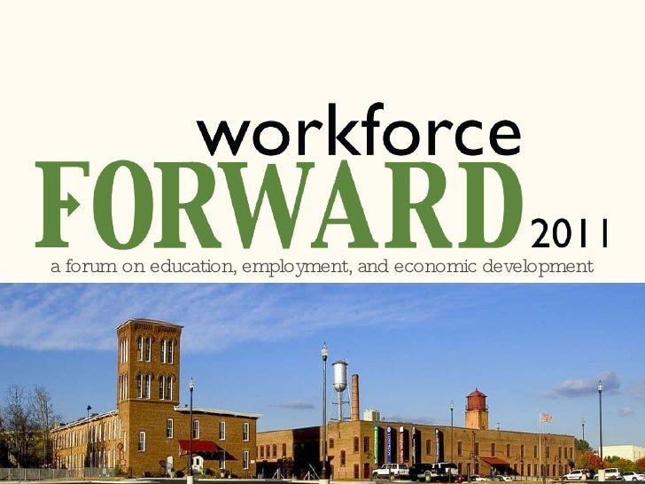 a forum on education, employment, and economic development