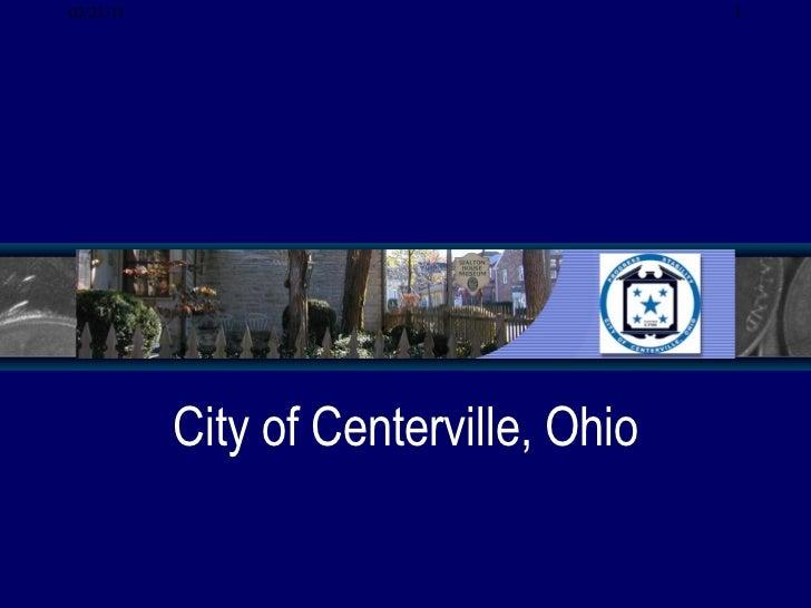 Centerville Project