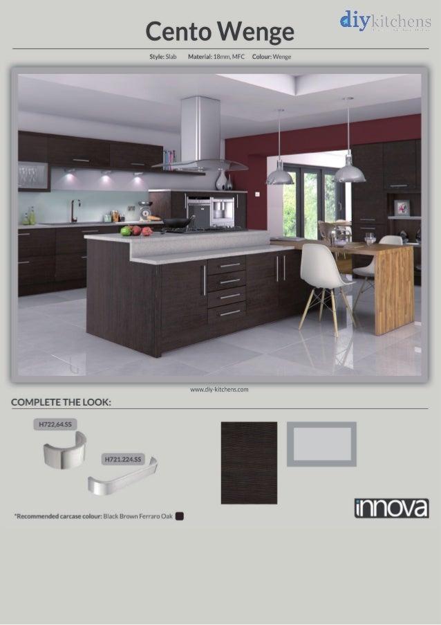 Cento wenge kitchen design idea diy kitchens for Wenge kitchen designs