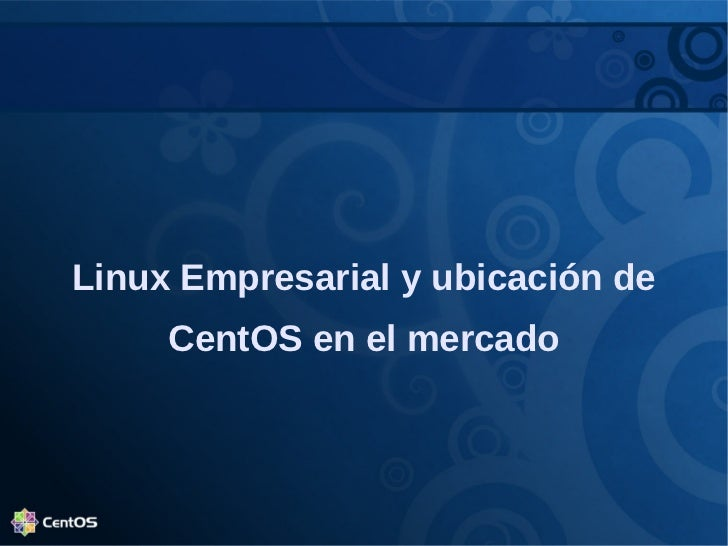 Centos softwarerlibre