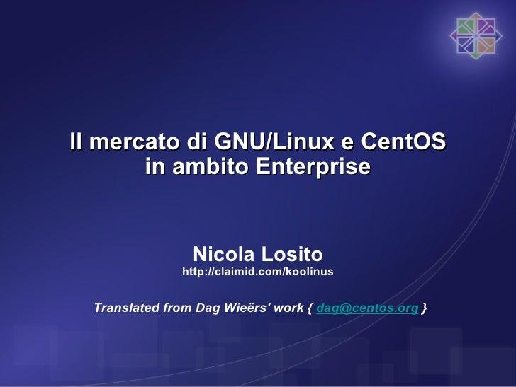 Introduzione a CentOS (alpha release)