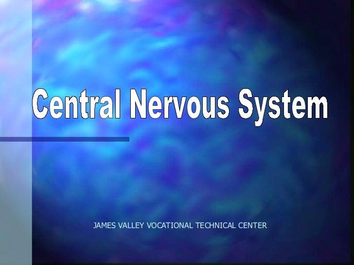 JAMES VALLEY VOCATIONAL TECHNICAL CENTER Central Nervous System