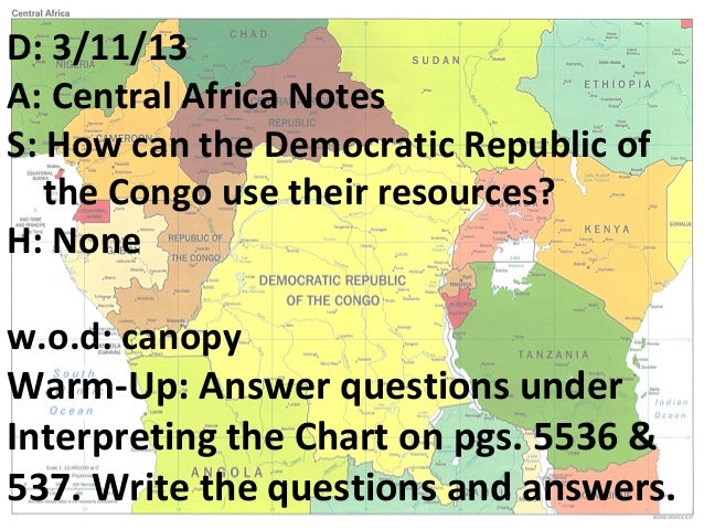 Central africa post
