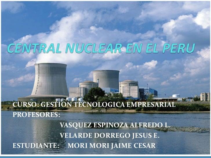 Central Nuclear en el Peru
