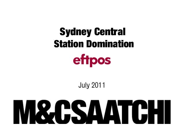 Sydney CentralStation Domination     July 2011