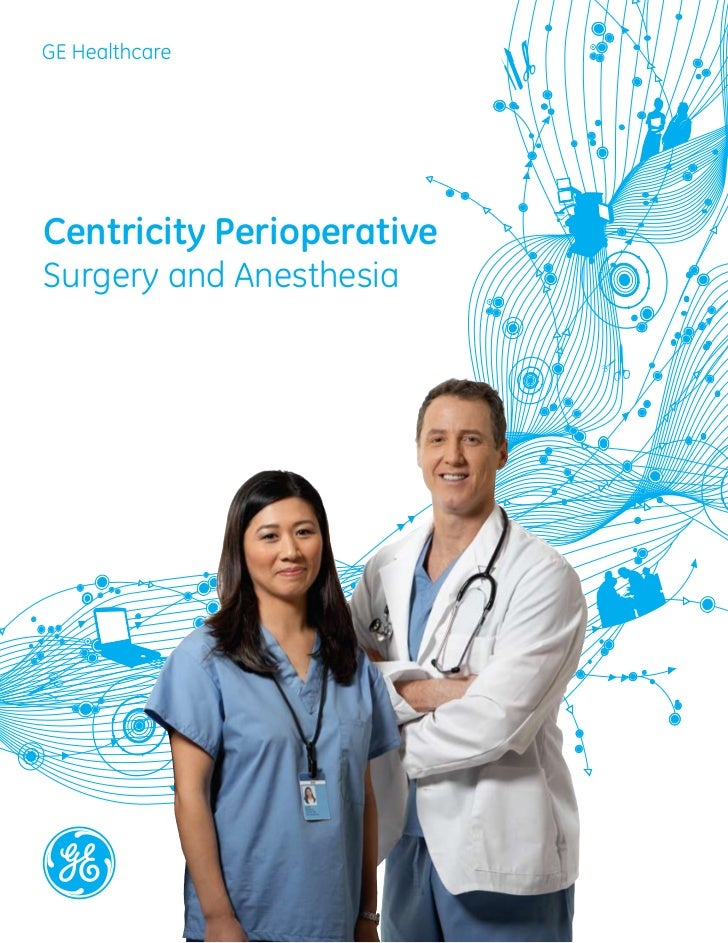 GE Healthcare Centricity Perioperative Surgery and Anesthesia